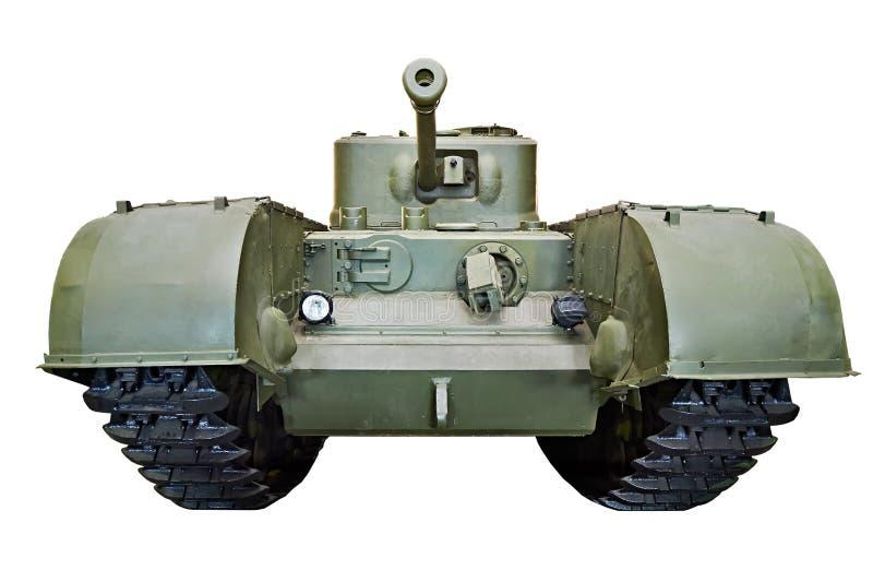 El tanque pesado británico Churchill de la infantería aisló imágenes de archivo libres de regalías
