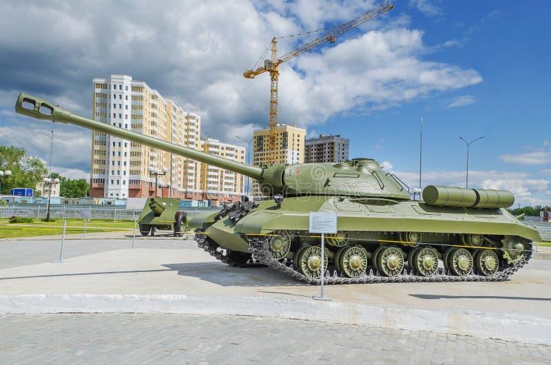 El tanque pesado soviético IS-3 - objeto expuesto del museo de e militar imágenes de archivo libres de regalías