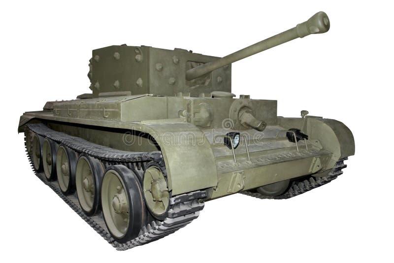 El tanque que cruza medio fotografía de archivo libre de regalías
