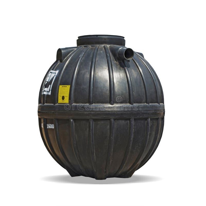 El tanque séptico imagenes de archivo