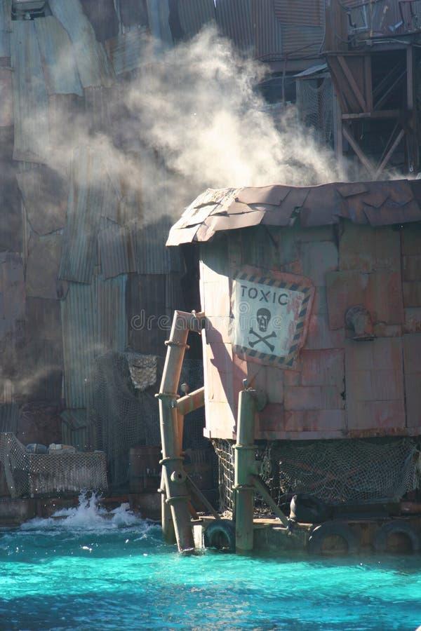 El tanque tóxico imagenes de archivo