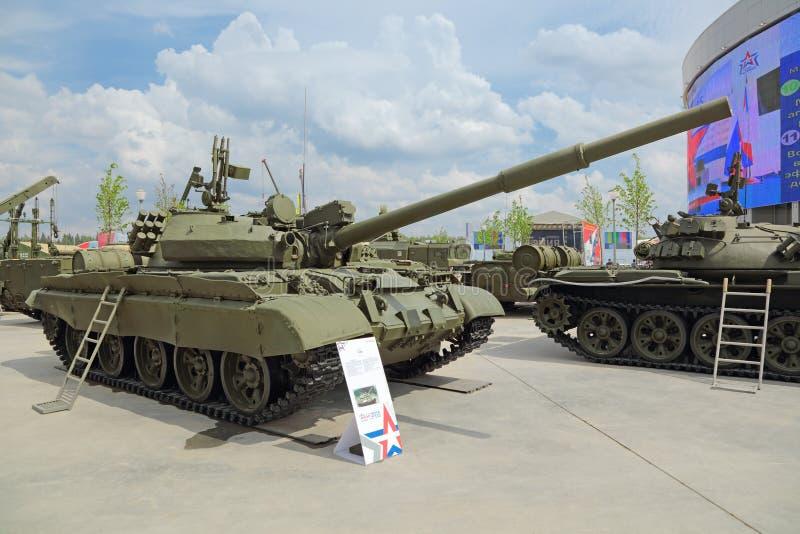 El tanque T-62 fotos de archivo
