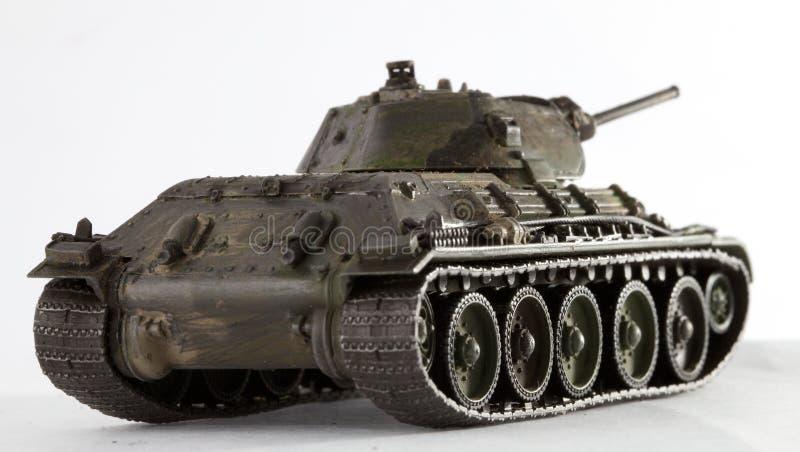 El tanque T34 fotografía de archivo libre de regalías