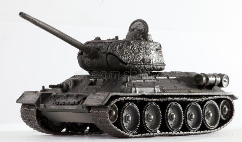 El tanque T34 imagen de archivo
