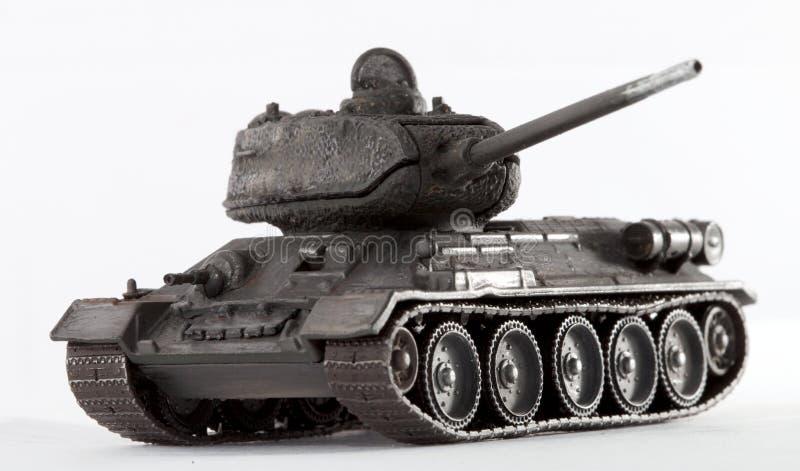 El tanque T34 fotografía de archivo