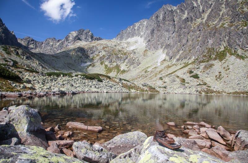 El Tarn en alto Tatras, Eslovaquia fotos de archivo