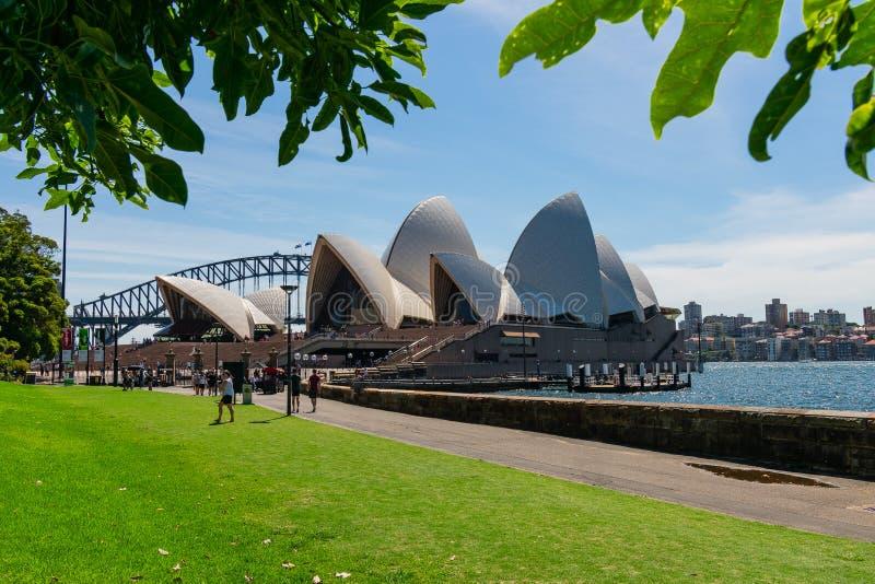 El teatro de la ópera Sydney fotografía de archivo