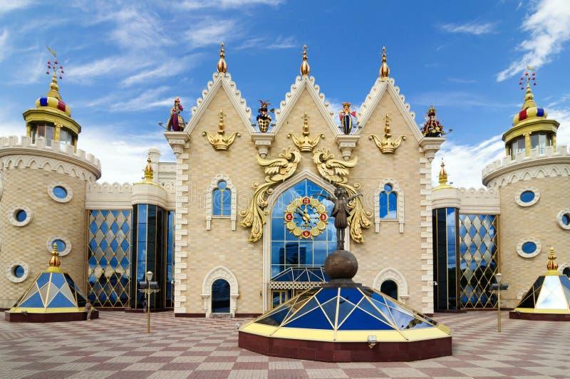 El teatro de la marioneta de Kazán es el más grande y el que está de los más viejos teatros de la marioneta de Rusia fotografía de archivo