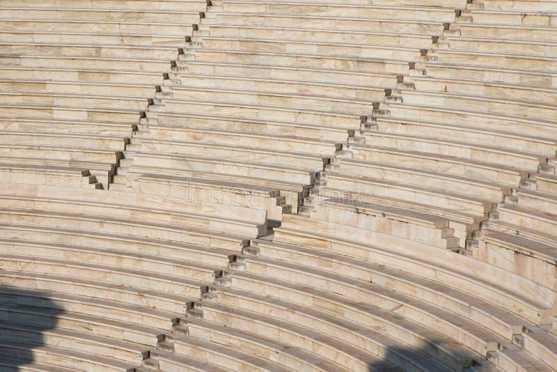 El teatro del Atticus de Herod imagenes de archivo