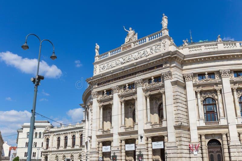 El teatro del Burg en Viena, Austria fotos de archivo libres de regalías