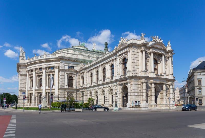 El teatro del Burg en Viena, Austria foto de archivo libre de regalías