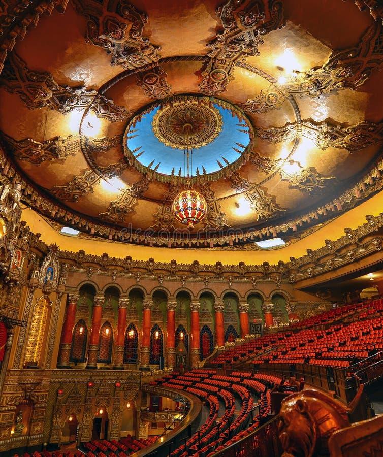 El teatro del Fox en St. Louis, Missouri fotos de archivo