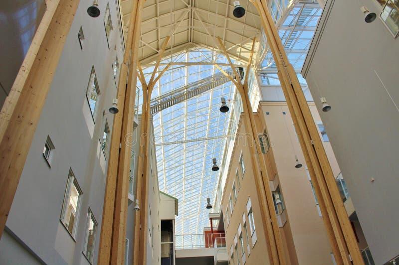 El techo en el hospital de Sunderby fotografía de archivo libre de regalías