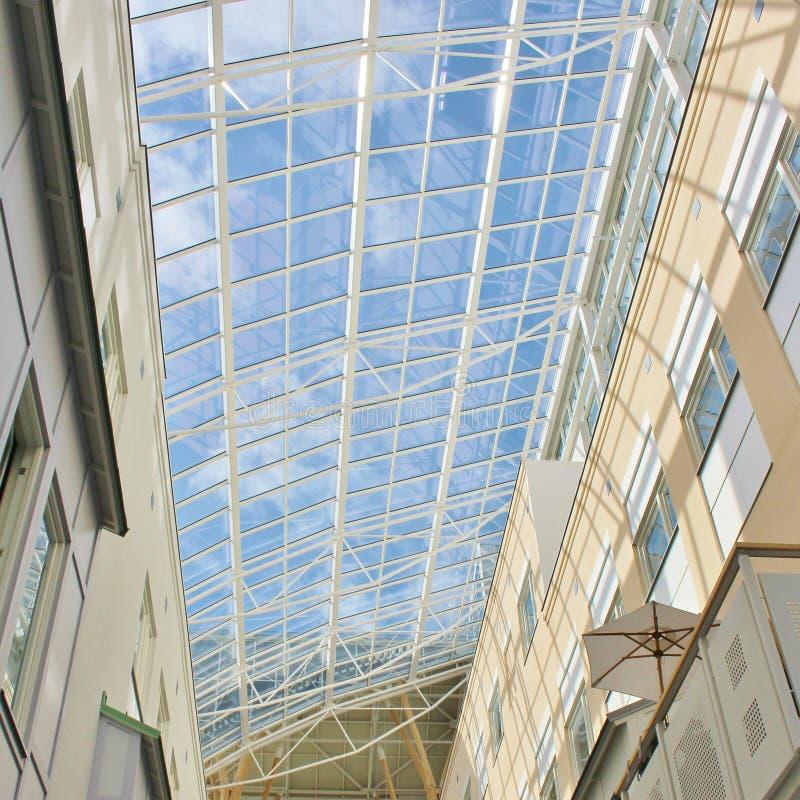 El techo en el hospital de Sunderby fotografía de archivo
