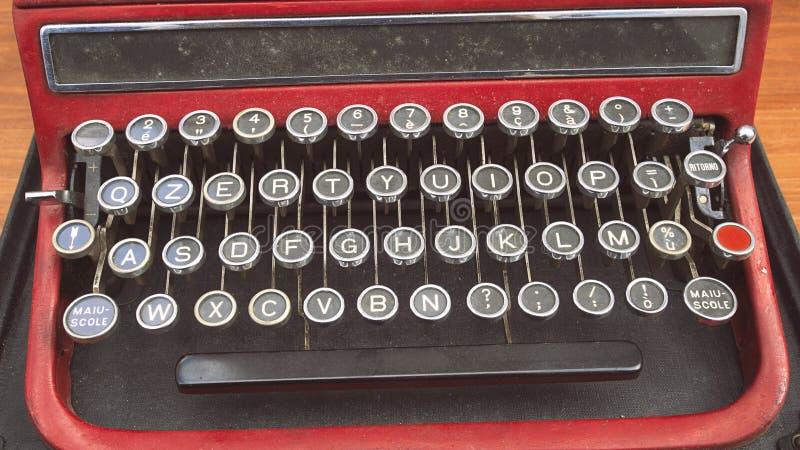 El teclado viejo fotografía de archivo