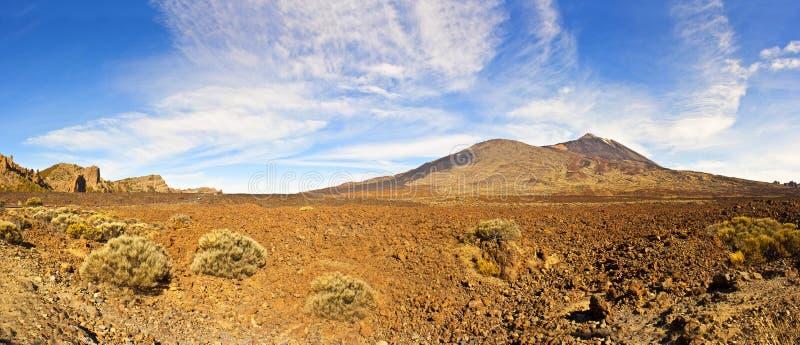 EL Teide immagine stock