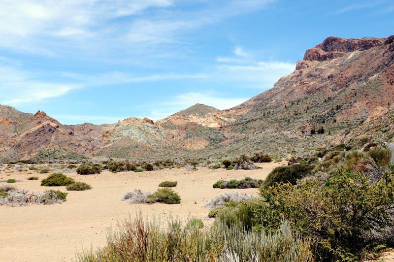El Teide park narodowy przy Tenerife (Hiszpania) zdjęcie stock