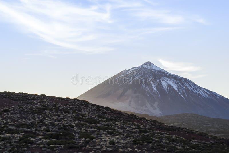 EL Teide, Tenerife, Isole Canarie, Spagna del vulcano fotografia stock