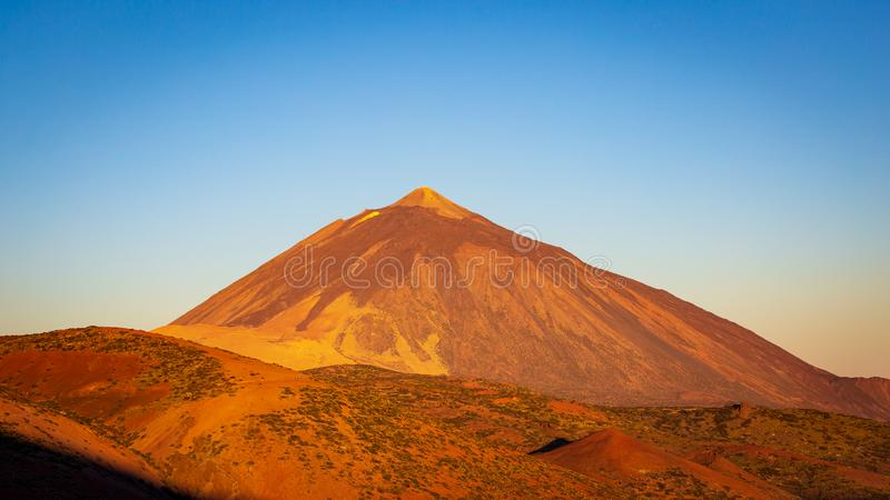 EL Teide Volcano Peak sur l'île de Ténérife photographie stock