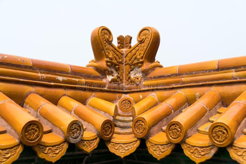 El tejado del palacio imagenes de archivo