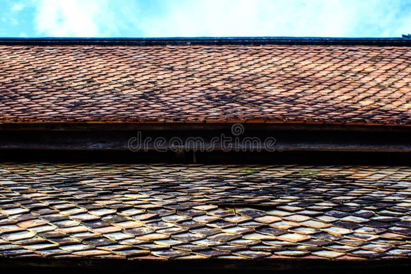 El tejado Tailandia foto de archivo