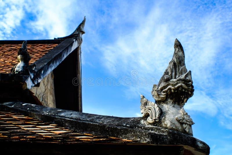 El tejado Tailandia imagenes de archivo