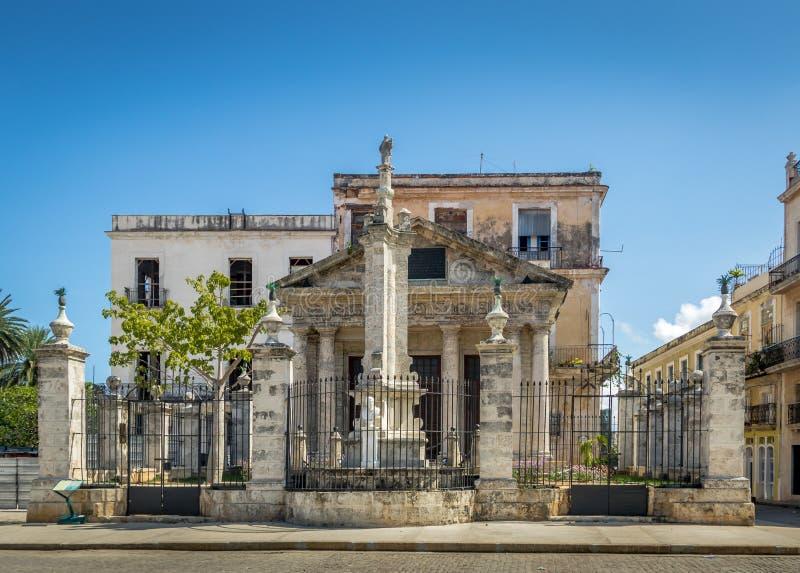 EL Templete - Avana, Cuba immagini stock
