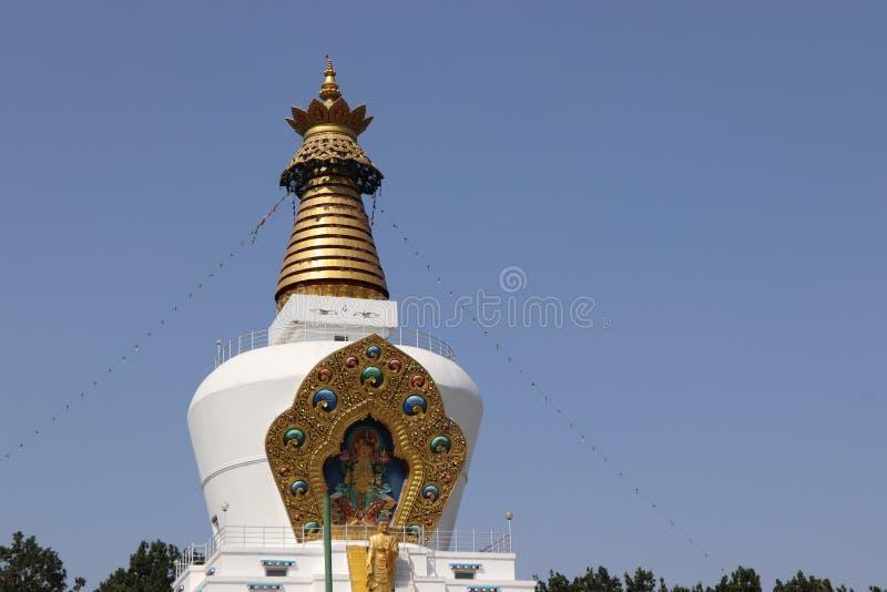 El templo budista en Uttarakhand fotografía de archivo libre de regalías