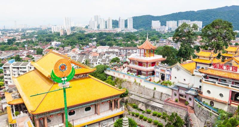 El templo budista más grande de Asia sudoriental fotografía de archivo libre de regalías