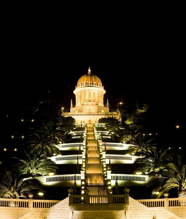 El templo de Baha'i foto de archivo libre de regalías