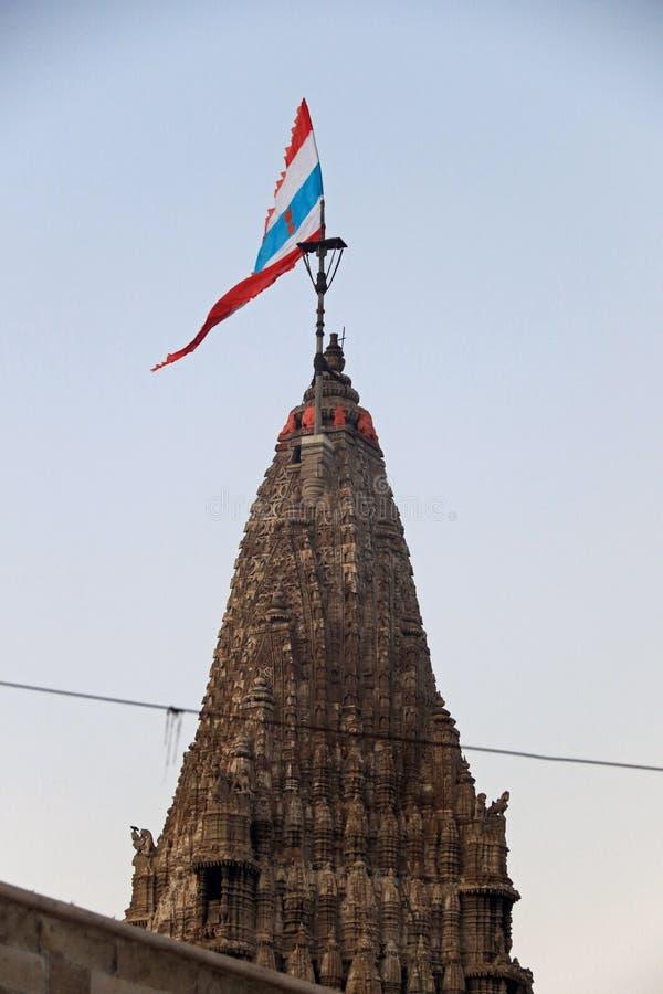 El templo de Dwarkadhish imagenes de archivo