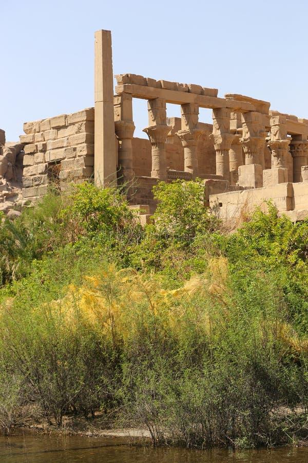 El templo de ISIS - templo de Philae, Egipto fotos de archivo libres de regalías
