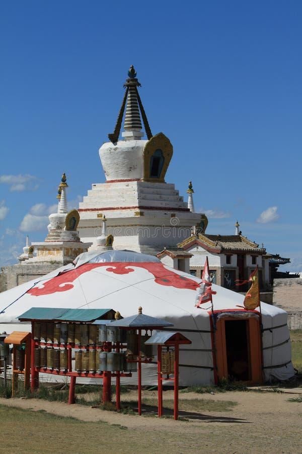 El templo de Karakorum imágenes de archivo libres de regalías