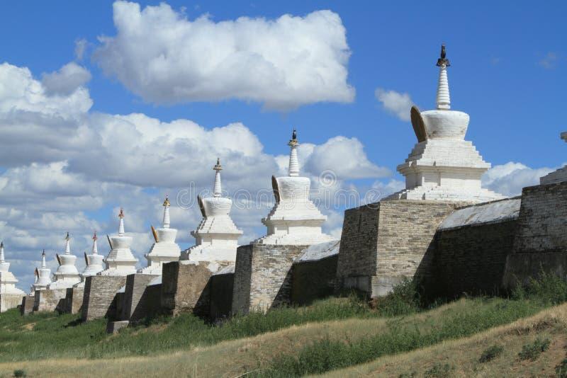 El templo de Karakorum imagen de archivo