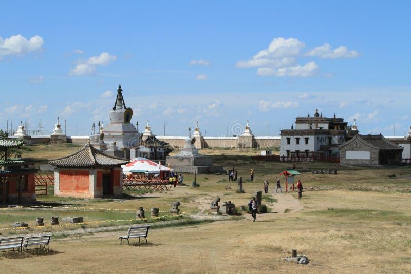 El templo de Karakorum imagen de archivo libre de regalías