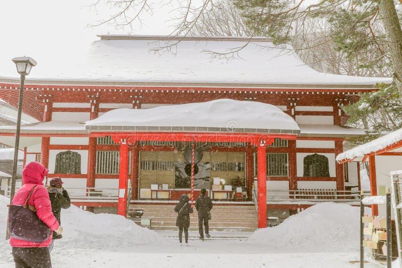 El templo de Kosenji es un templo budista en Kusatsu Onsen es un s caliente fotos de archivo