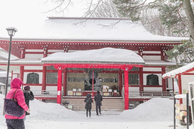 El templo de Kosenji es un templo budista en Kusatsu Onsen es un s caliente imagenes de archivo