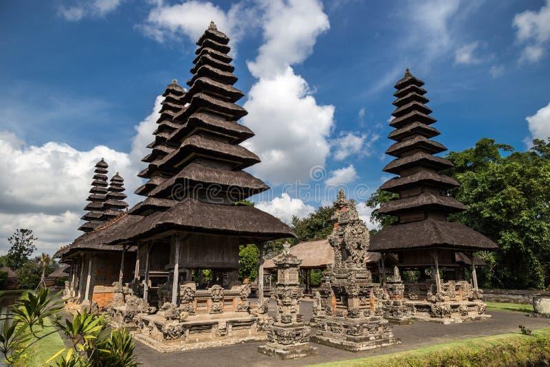 El templo de Pura Taman Ayun es Badung en Bali, Indonesia imágenes de archivo libres de regalías