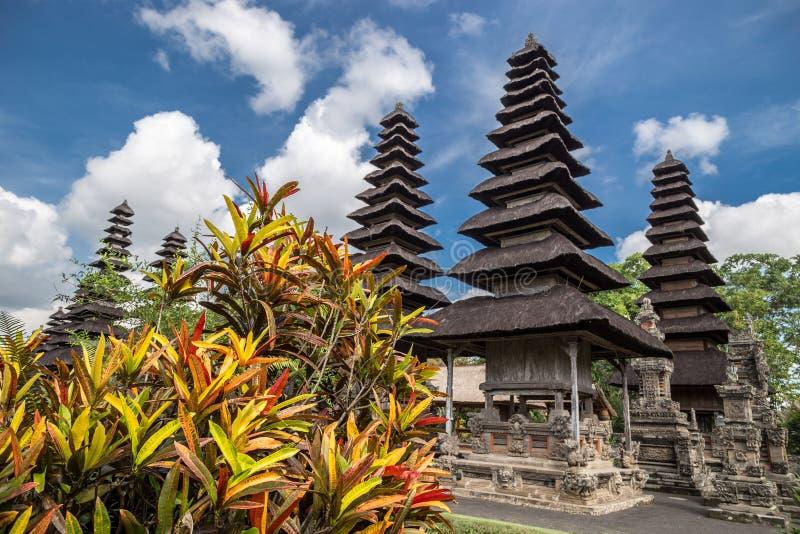 El templo de Pura Taman Ayun es Badung en Bali, Indonesia imagen de archivo