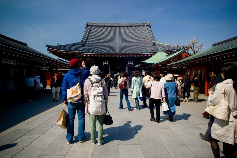 el templo de Senso-ji imagen de archivo libre de regalías