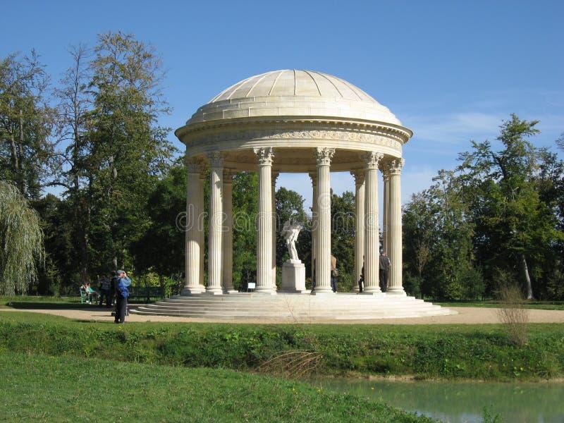 El templo del amor - Versalles fotografía de archivo libre de regalías