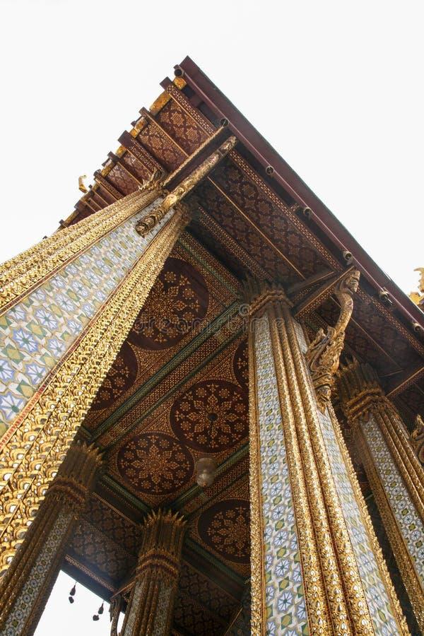 El Templo del Buda de Jade en Bangkok, Tailandia fotografía de archivo libre de regalías