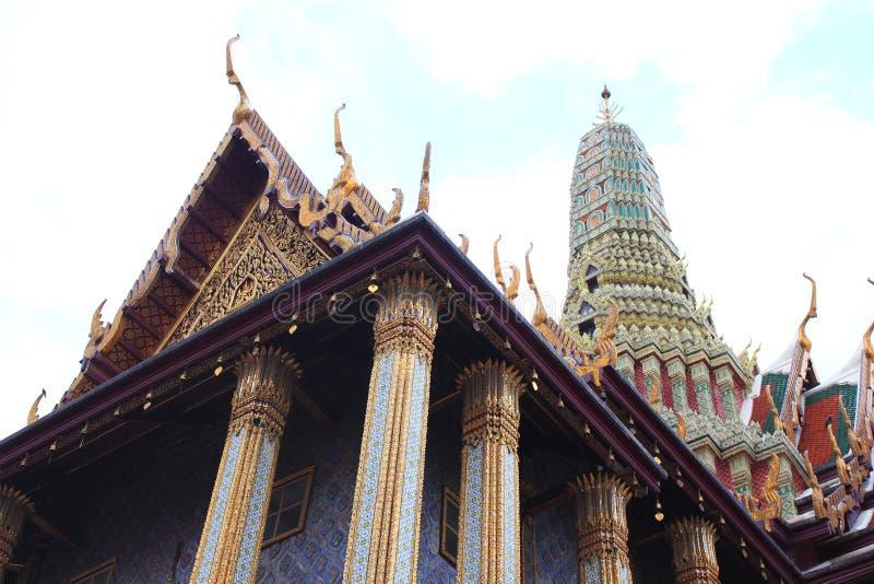 El templo esmeralda de Buddha fotografía de archivo