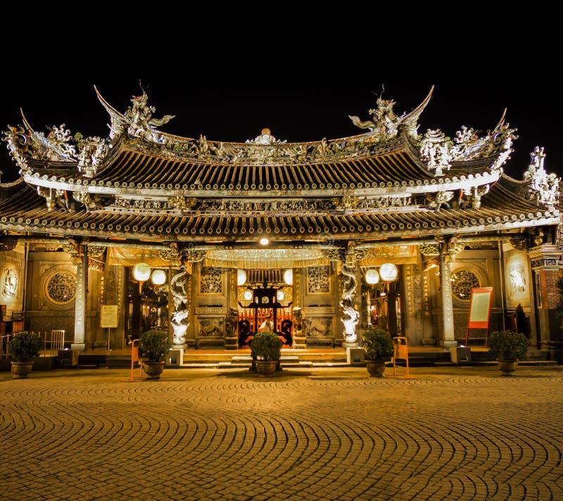 El templo famoso de Taiwán imagen de archivo