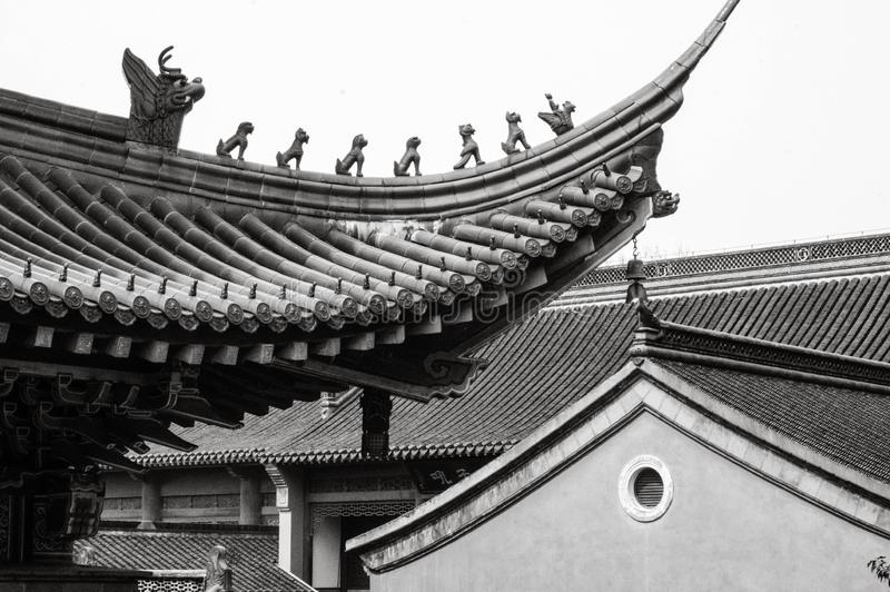 El templo jinshan fotos de archivo libres de regalías