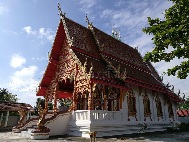 El templo local fotografía de archivo libre de regalías
