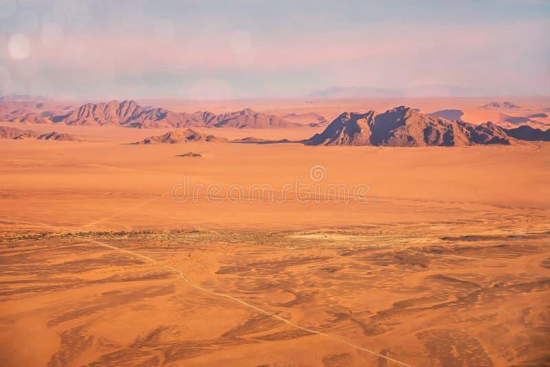 El terreno extremo del desierto de Namib, Namibia fotografía de archivo libre de regalías