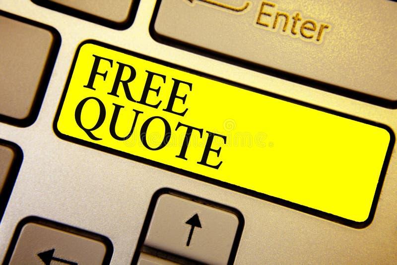 El texto de la escritura libera cita El concepto que significa la breve frase de A que es tiene generalmente mensaje impotant par foto de archivo libre de regalías