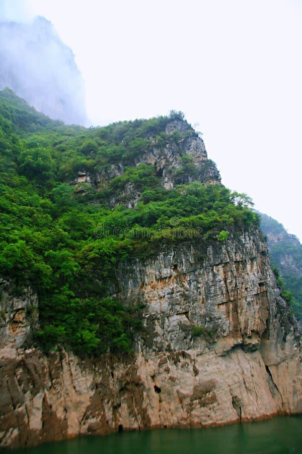 El Three Gorges del río Yangzi fotografía de archivo libre de regalías