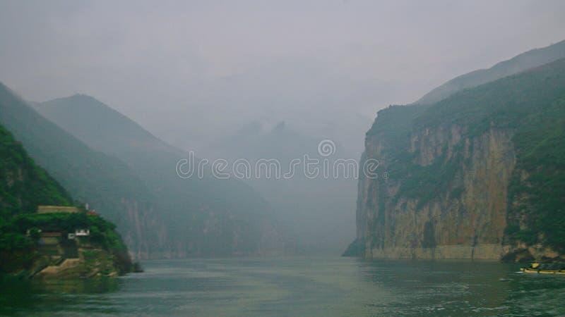 El Three Gorges del río Yangzi foto de archivo libre de regalías